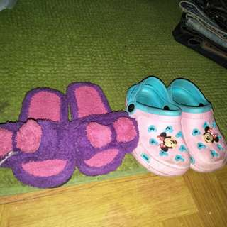 Slippers take all for 100