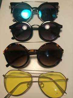 Sunglasses $5 each
