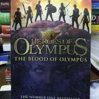 Novel Heroes of Olympus the Blood of Olympus