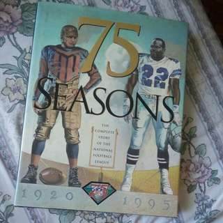 75 seasons the complete story of nfl league