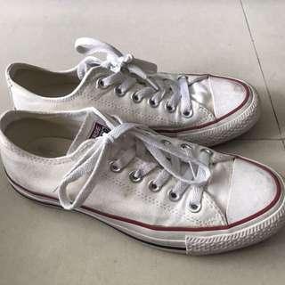 White Converse Size 37