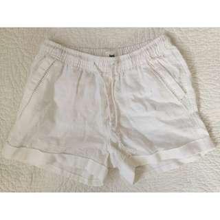 JUST JEANS - linen shorts