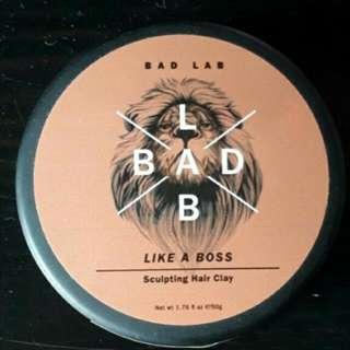 Bad Lab Like a Boss sculpting hair clay 50g