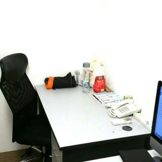 Fixed Desk Co Working Office