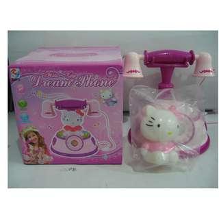 HELLO KITTY DREAM PHONE / Mainan Telephone Karakter HELLO KITTY 2811