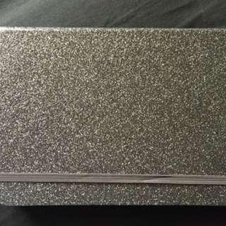 Notebook glitter A5 brand typo