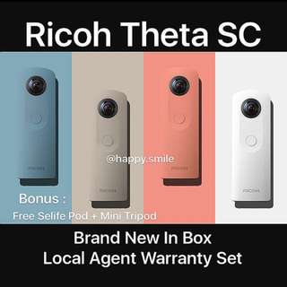 On Sales Now ! Ricoh Theta SC