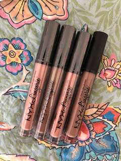 Nyx lingerie matte liquid lipstick