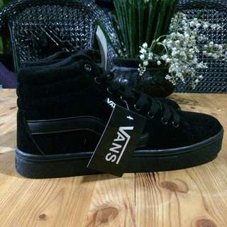 Vans TNT all Black Hicut