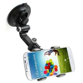 Universal Mobile Phone Holder, windshield and dashboard available, easy to be installed(Free Shipping)