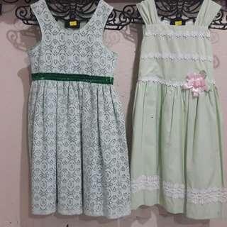 Summer Dress in Mint Grn