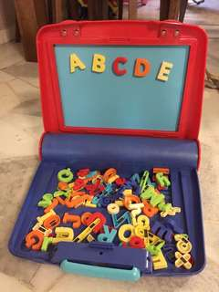 ELC learning alphabet magnet travel set