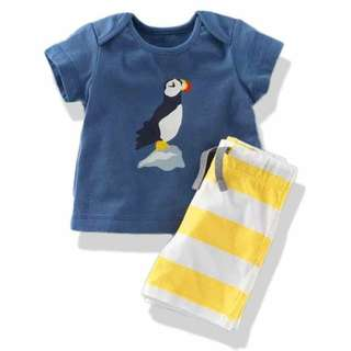 Boys's 2-PC Terno Penguin - Clothing