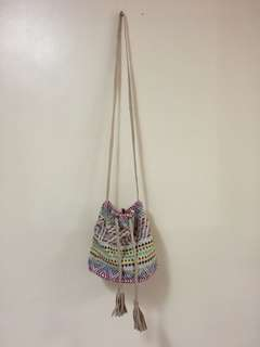 H&M boho aztec bag