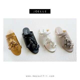 Joelle sandal tassel dari mayoutfit