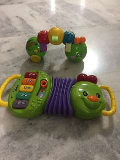 Vtech caterpillar combo set