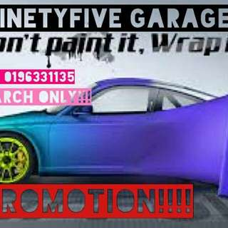 Car colour wraping