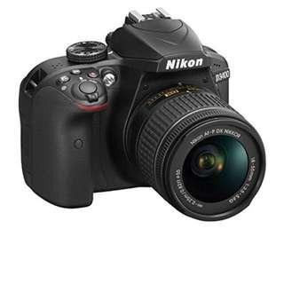 Brand New Nikon DSLR D3400 with 18-55mm VR Kit