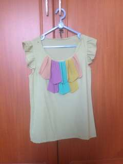 COLORFULL BLOUSE