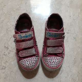 Skechers twinkling toes Girl