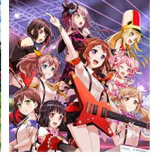 BanG Dream! Girls Band Party Complete Play Set and singles