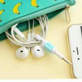 Headphone cord protector