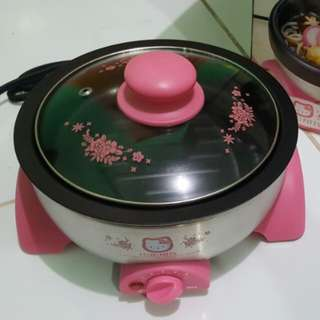 Hello Kitty double cooker