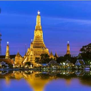 5D4N bangkok itinerary (fixed itinerary/