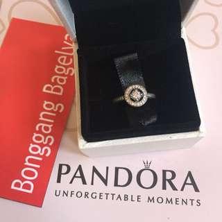 Authentic Pandora Earrings Size 6.5