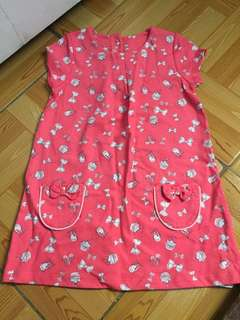 Mothercare hot pink dress bnew