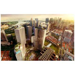 1-night weekend stay at Andaz Singapore (inclusive of breakfast for 2)