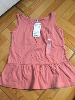 H&M rust-colored sleeveless bnew