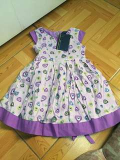 Periwinkle lavender+purple dress bnew