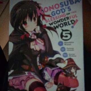Konosuba manga book 5