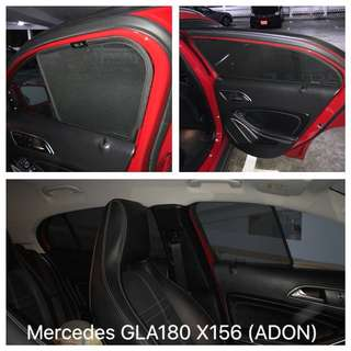 Original ADON Shades - Magnetic Sunshades for cars on Mercedes A/B/C/E/GLA/GLC Class. Made In Taiwan.