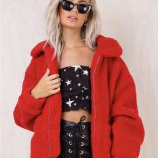 I Am Gia Pixie Jacket - Red