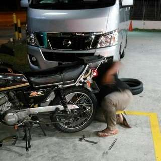 Onsite Bike Repair / Mobile Mechanic / Bike Towing / Tyre Patch / Cacing / 24hrs Rescue / Transportation