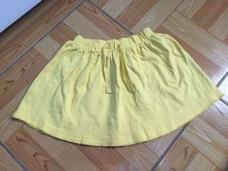 Mothercare yellow skirt bnew