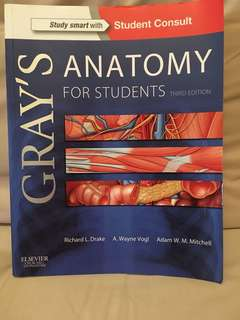 Gray's Anatomy for Students (Third Edition)