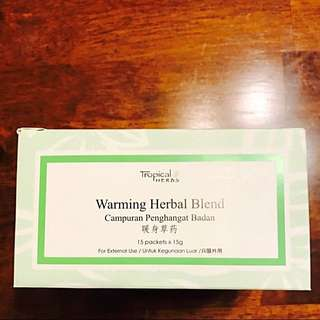 Amway Tropical Herbs Warming Herbal Blend