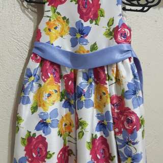 Willow Blossoms Sunday Dress