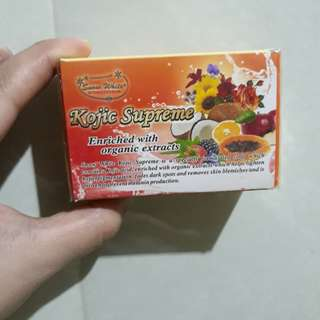Kojic soap by snow white inter