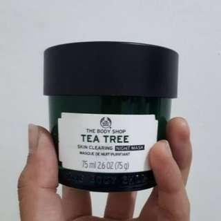 TEA TREE NIGHT MASK THE BODY SHOP