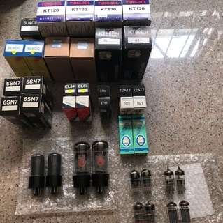 Various Tubes for Tube Amplifier