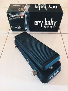 Cry Baby 535Q with box