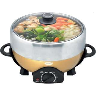 Brand New EuropAce ESB 3501S Electric Steamboat + Grill