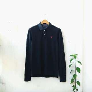 American Eagle LS Polo Shirt