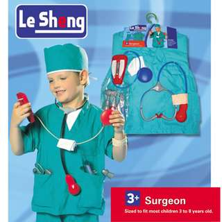 Surgeon Doctor Kids Costume