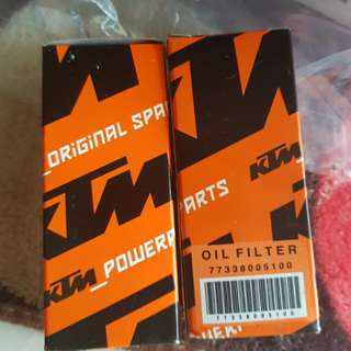 Ktm 4stroke oil filter for 2012 - 2018