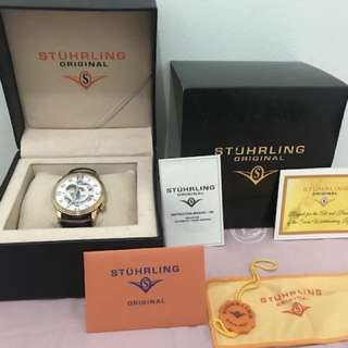 Jam Stuhrling Othello Man, Rose Gold, Like New, Very Mint Condition